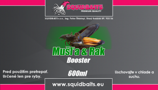 Booster Mušľa & Rak 600ml